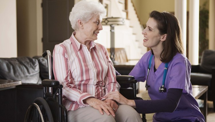 Some nurses offer home health care services.
