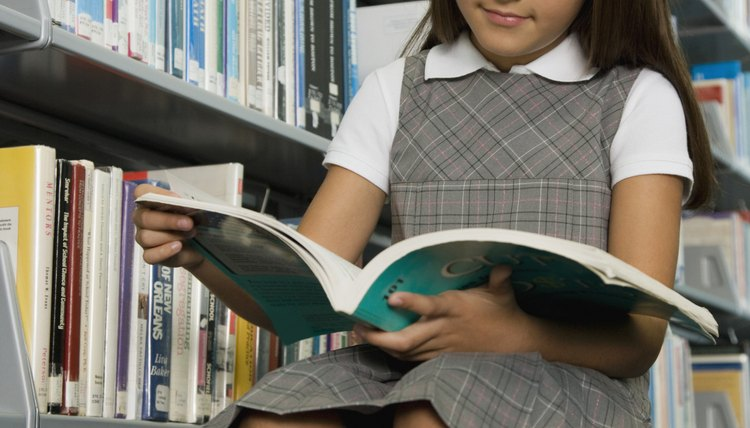How is reading ability measured using Lexile ranges?