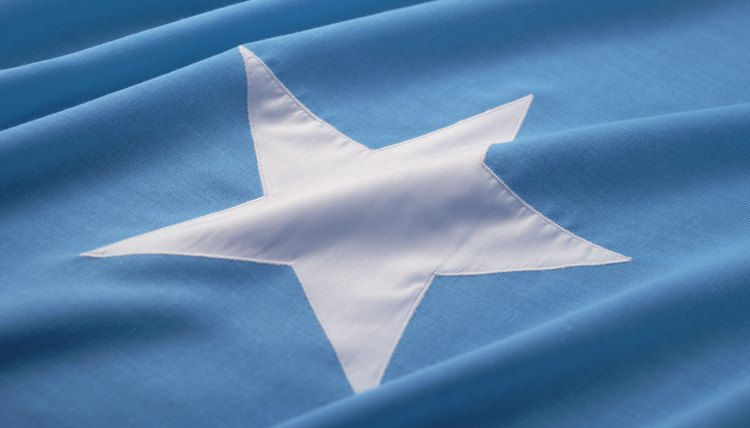 National flag of Somalia.