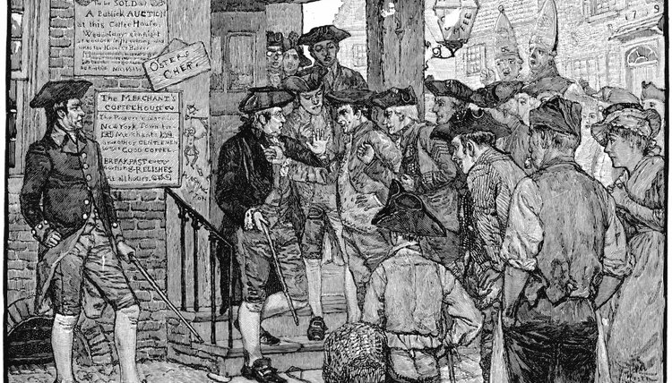 Most Stamp Act officers resigned rather than face angry Colonial mobs.