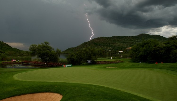Golf, like most outdoor sports, is subject to the elements, so always be aware of what to do if a potential danger arises.