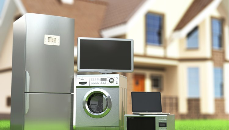 Home appliances of every size rely on electromagnets to perform their work.
