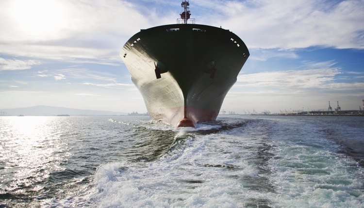 Marine engineers design and test mechanical systems for ocean vessels.