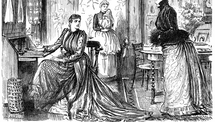 Victorian women were expected to devote themselves entirely to family life.
