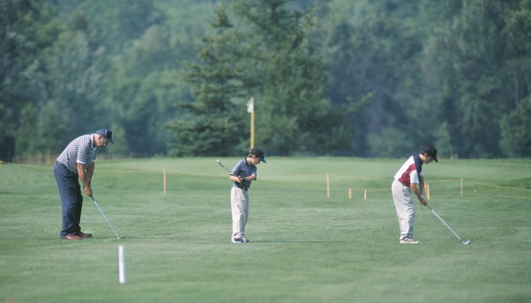 Practicing is a key aspect of improving your swing skills.