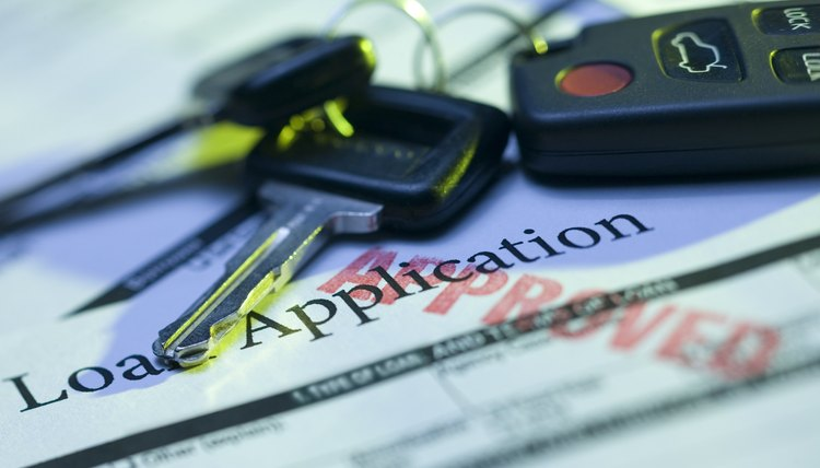 Income is one factor in obtaining a car loan.