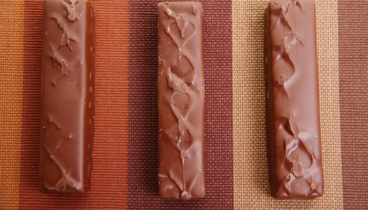 The first candy bars were bittersweet.