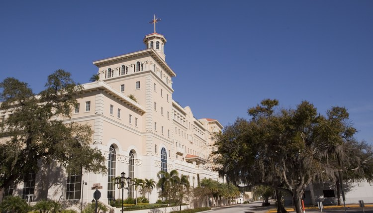 A Church of Scientology building in Clearwater, FL.