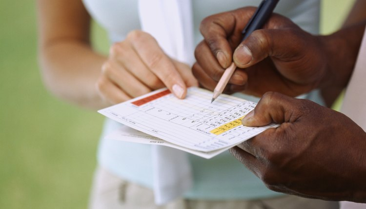 The Stableford Scoring system take handicaps into account to assign scores by hole and is popular when players of different skill levels compete.