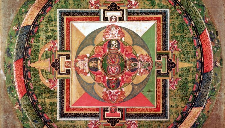The mandala is a Buddhist ritual object used in meditation.