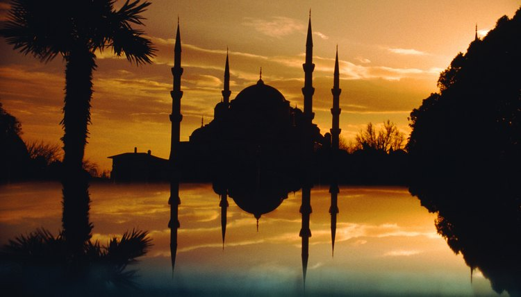 The Blue Mosque of Istanbul was built in 1609 and demonstrates the power of Islam in unifying the Ottoman Empire.