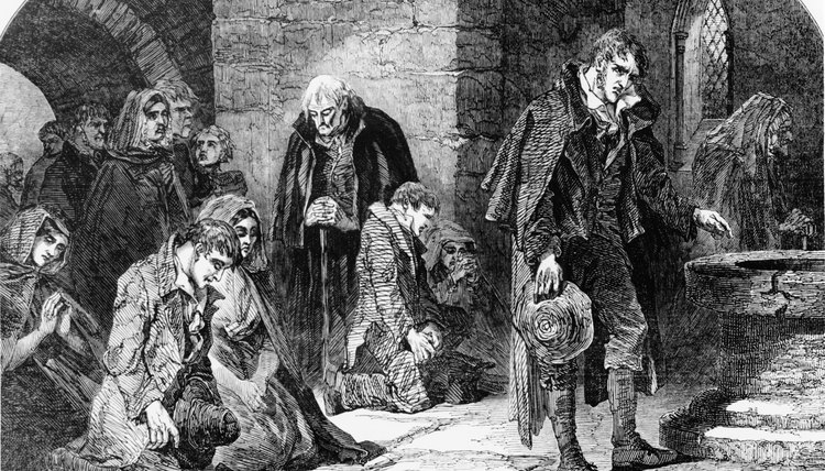 The Irish Famine killed a million people in five years.