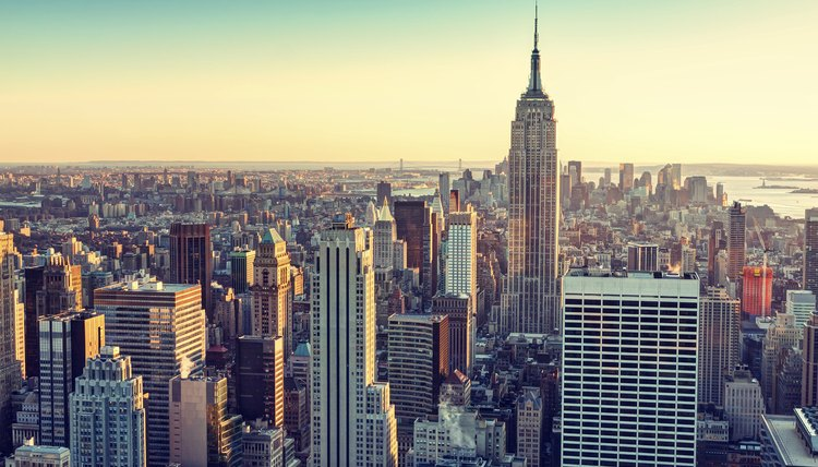 New York City has one of the highest rents.