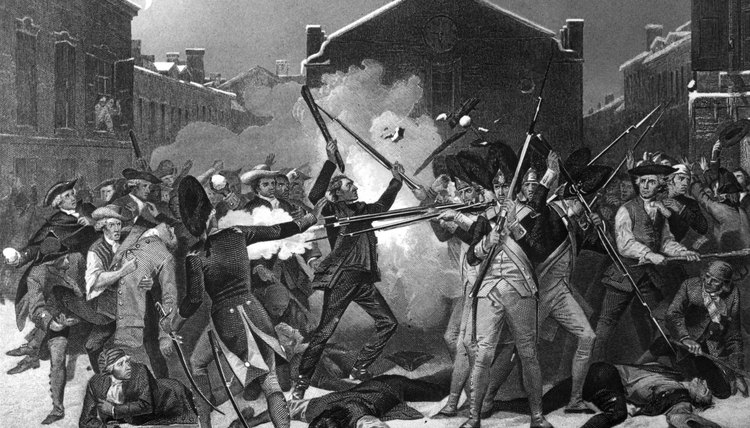 Patriots used exaggerated stories of the Boston Massacre to fuel revolutionary fervor.