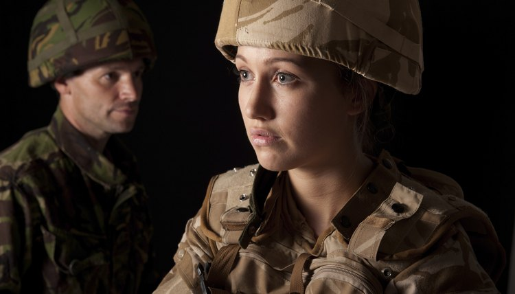 Despite a few differences, male and female soldiers have the same opportunities to advance.