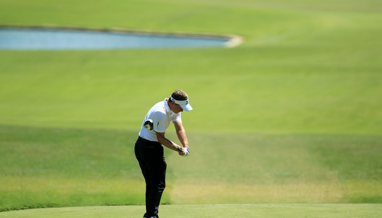 "Luke Donald plays so consistently because he gets into ""the slot"" so often."