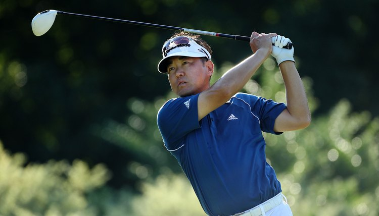 Charlie Wi is the primary golfer using the Stack-and-Tilt swing on the PGA Tour.