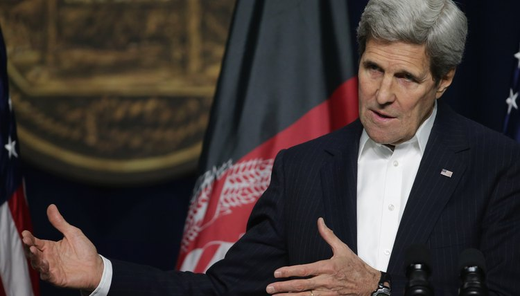 As of 2015, John Kerry is the U.S. Secretary of State.