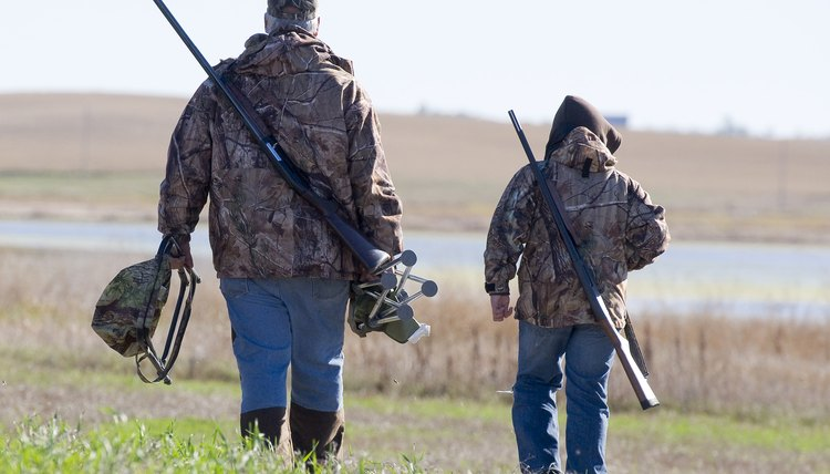 Hunting is a bonding experience between parents and teens.