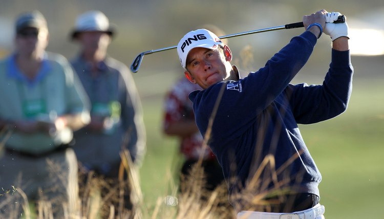 Lee Westwood was the first golfer to attain world No. 1 status using investment cast irons.