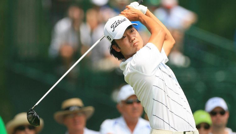 Kevin Na took a 16 on a par-4 during the 2011 Valero Texas Open.