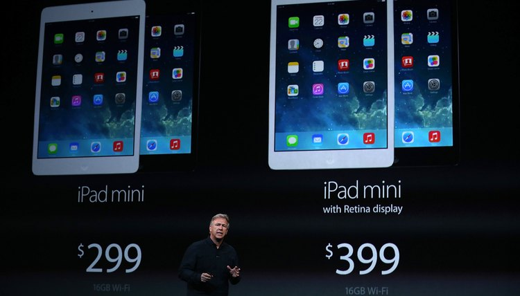 Apple's two iPad Minis are available at different price points.