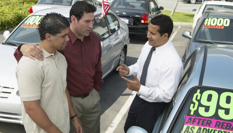 Paying in cash can reduce the total cost of buying a car.