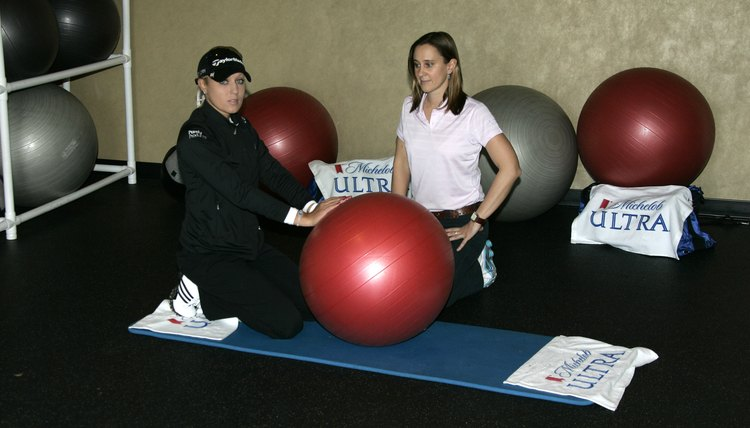 Professional golfers are continuing to discover the benefits of fitness training.