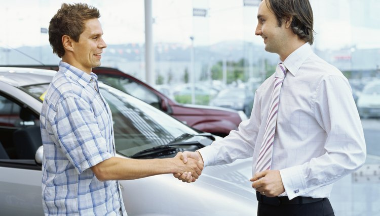Dealerships work with lenders that loan to credit challenged buyers.