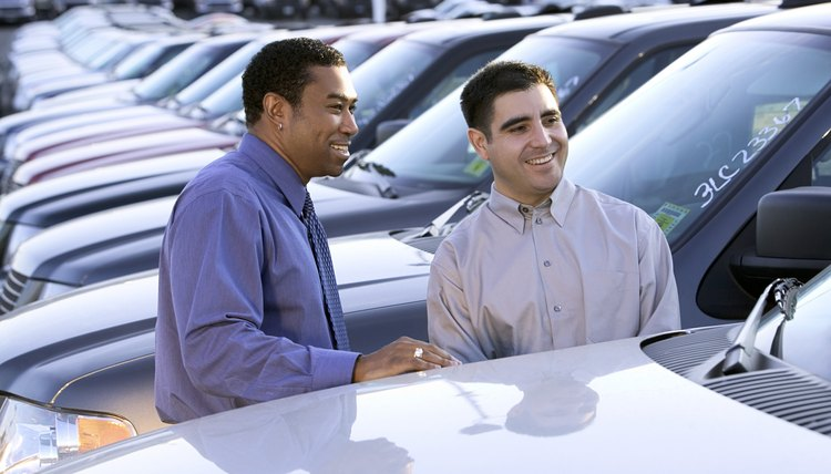 A co-signer often makes the difference when buying a car.