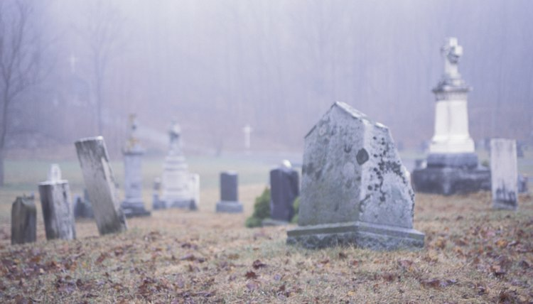 According to the Talmud, some ghosts can be spoken to in cemeteries.