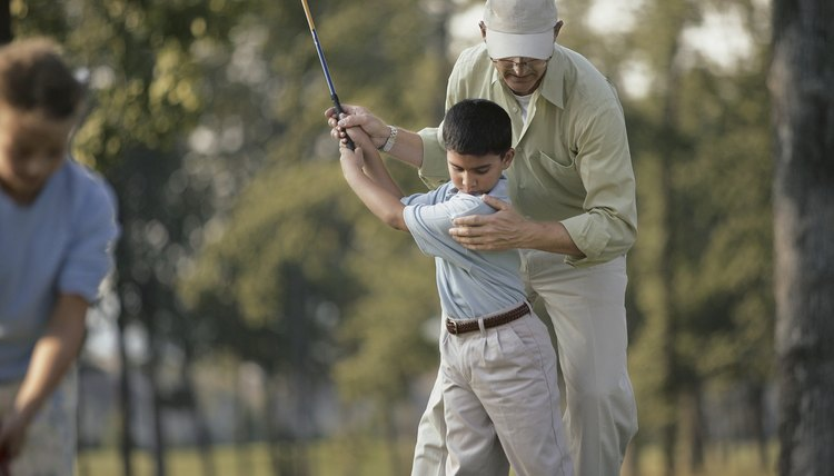 Taking golf lessons from a certified pro is a key to improving your game.