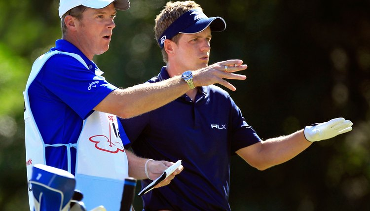 The advice of a top quality caddy on the PGA tour can easily command annual earnings north of six figures.