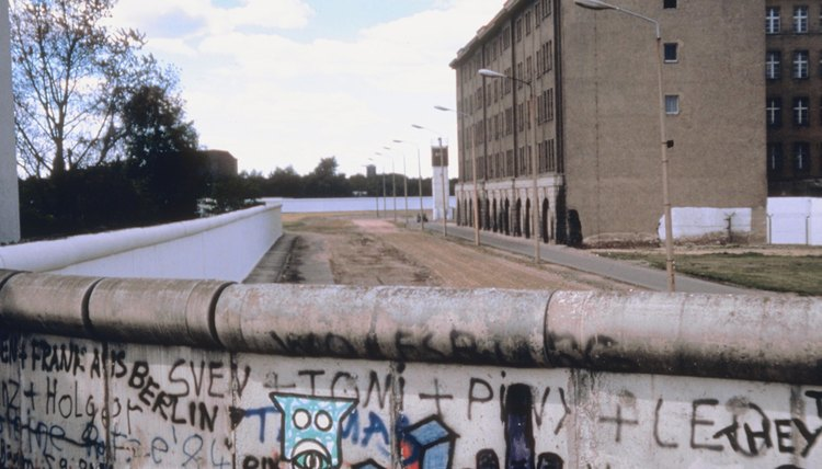 The Berlin Wall prevented East Germans from escaping into West Germany.
