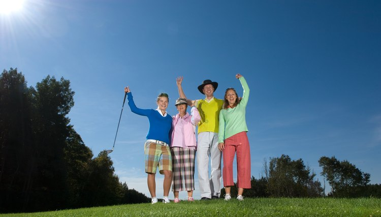 A golf scramble is a fun format for team tournaments or informal rounds among casual golfers.