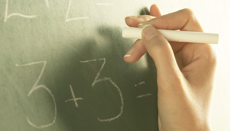 Whole numbers, or integers, are used frequently in algebraic word problems.