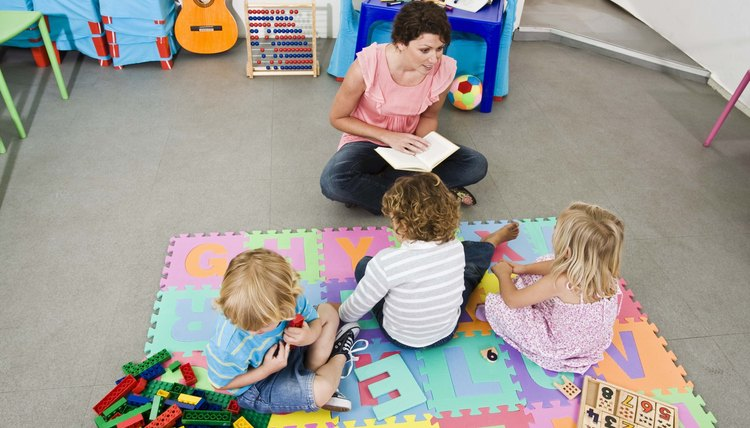 Keep circle time short for toddlers.