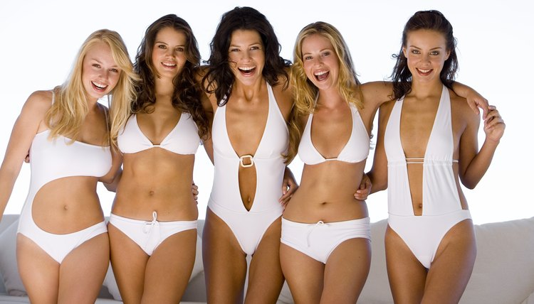 There is a bathing suit to flatter every body type.