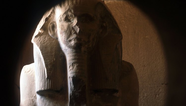 Ancient Egyptians had many beliefs surrounding death and the afterlife.