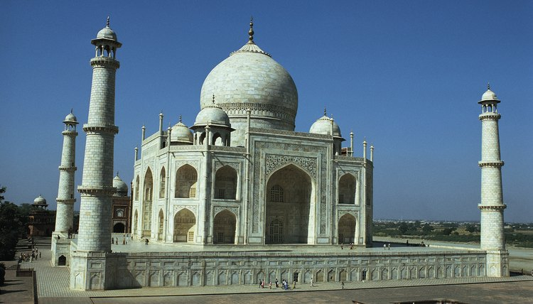 The Taj Mahal is an example of how large and ornate mausoleums can be.