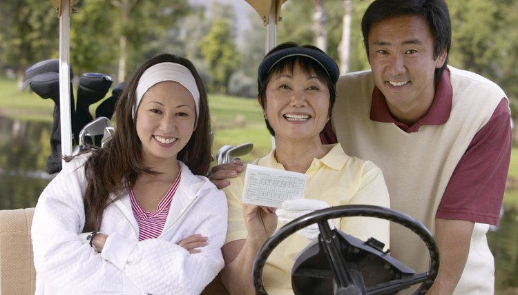 Golf handicaps keep all golfers competitive in a tournament or league.