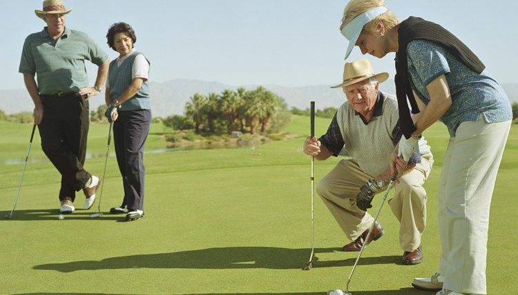 Golfers of different abilities can level the playing field by using their handicaps.