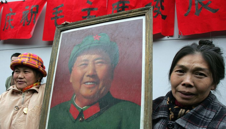 Mao Zedong encouraged women to dress in military uniform and to participate in violent mass criticism campaigns.