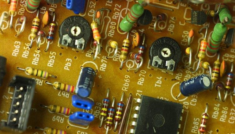 Dc Circuits Containing Resistors And Capacitors Physics