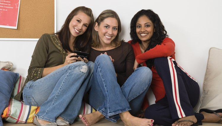 A dorm room gives you a chance to build relationships with fellow college students.