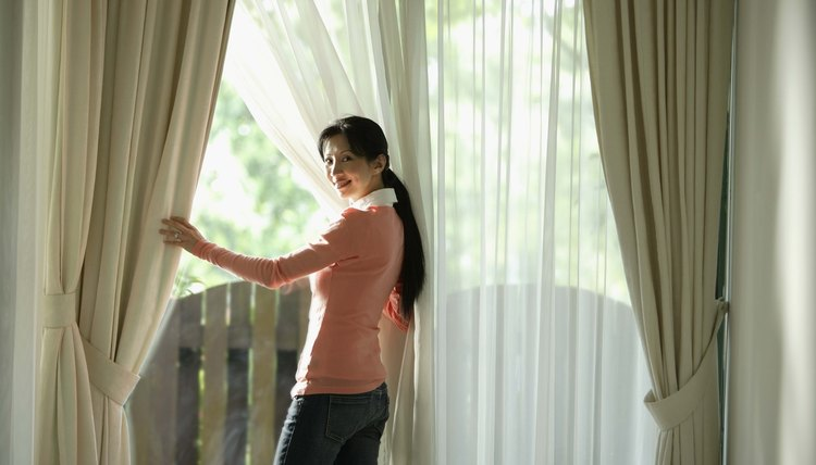 How to Make Energy Efficient Window Treatments | Sciencing