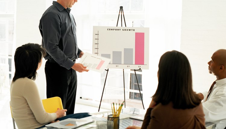 Presentation graphics and charts can improve the audience's understanding of your topic.