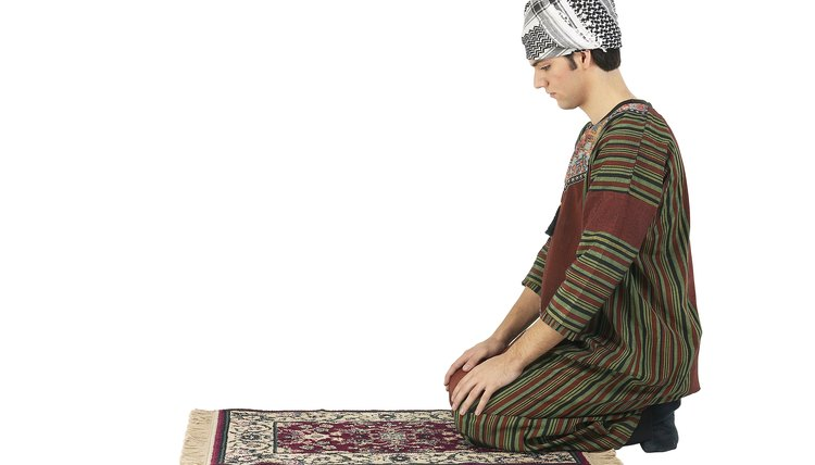 Though primarily an act of worship, the ritual prayer in Islam can also be associated with meditation.