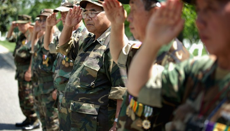 A number of Hmong war veterans now live in the United States.