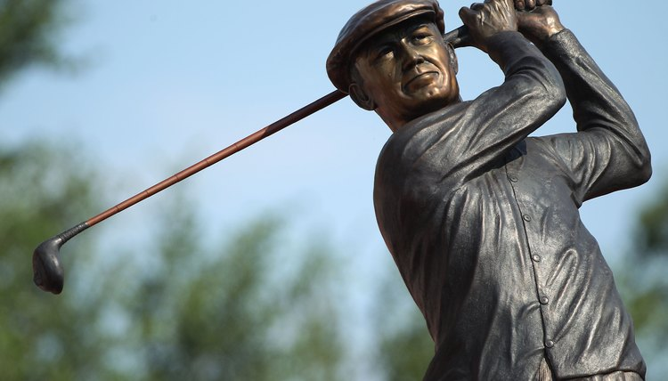 It's hard to go wrong when your golf advice comes another golfer memorialized in bronze!